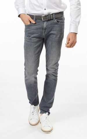 For all mankind Heren (Super skinny jeans, Strass op achterzak)
