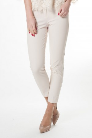 Cambio (broek met gallon , elastiek in tailleband)