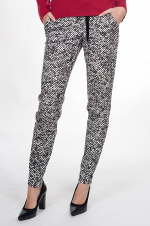 Marccain Collection (geklede joggingbroek, print)